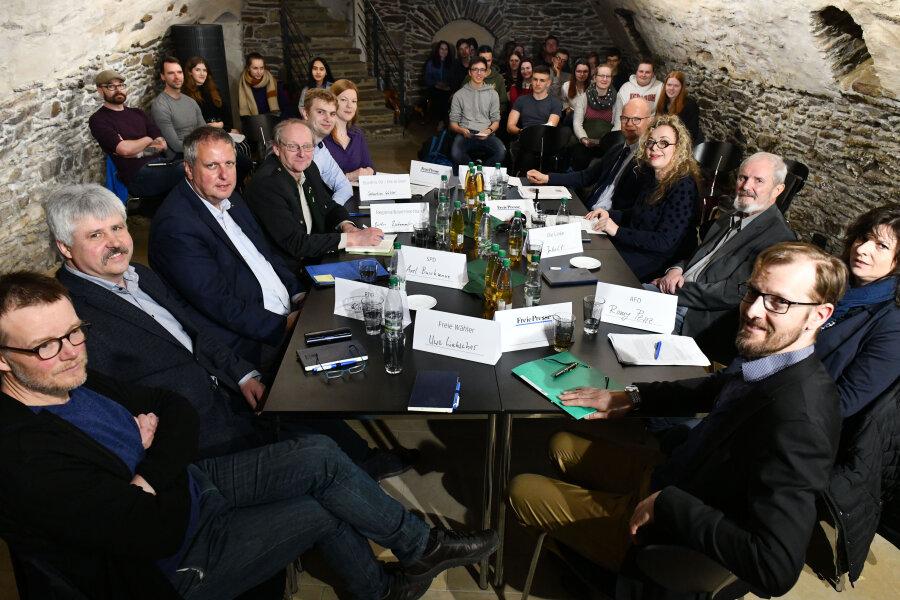 Jugendliche stellen Kreispolitikern ihre Zukunftsfragen