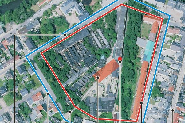 Schornstein-Sprengung in Glauchau: Anwohner müssen Häuser verlassen