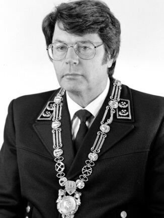 Professor Horst Gerhardt war von 1988 bis 1991 Rektor der Bergakademie.