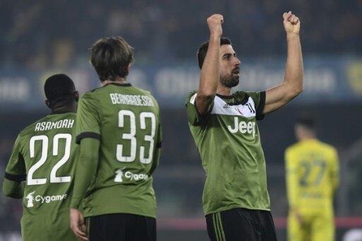 Khedira erzielte den Führungstreffer für Juve