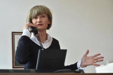 """Die """"Freie Presse"""" führte das Interview mit Barbara Ludwig per Telefon."""