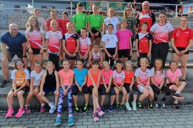Die Stollberger Trainingsgruppe des LV 90 Erzgebirge hat in der vergangenen Saison mit tollen Leistungen überzeugt.