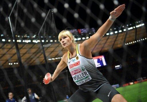 Nadine Müller sichert sich mit 63,00 m Silber