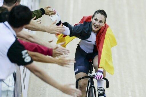 Kristina Vogel ist Radsportlerin des Jahres