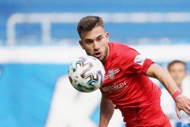 Linksverteidiger Can Coskun hat seinen Vertrag beim FSV Zwickau verlängert.