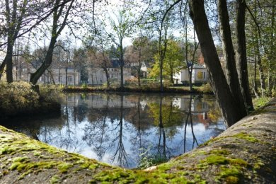 Still ruht der Gelenauer Dorfteich: Sanierungsarbeiten wird es dort wohl erst im Jahr 2022 geben.