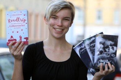 Lisa Marschallek aus Meerane schreibt seit drei Jahren Bücher. Jetzt hat sie eine romantische Komödie veröffentlicht.