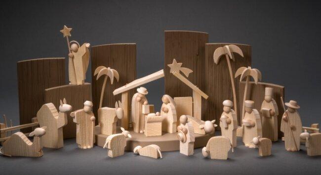 Ebenfalls einen Hauptpreis bekommt die Figurengruppe Heilige Nacht aus der Werkstatt von Günter Reichel in Pobershau, Gestalter Andreas Fleischer.