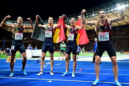 Belgien holt Gold - Deutsche Staffel chancenlos