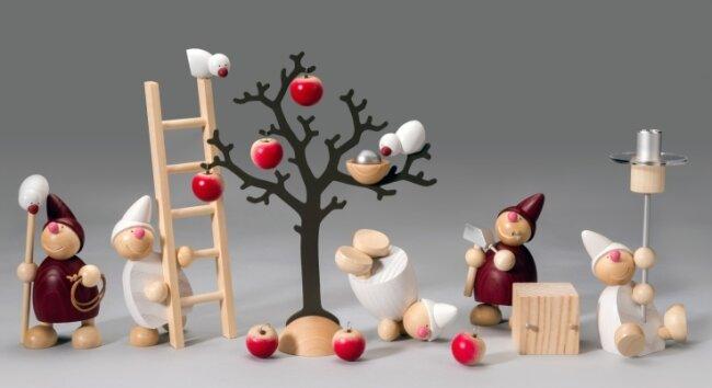 Einen Hauptpreis der Jury erhält das Sortiment Wichte von Näumanns Galerie für Holzkunst & Design und Gestalter Andreas Fleischer.