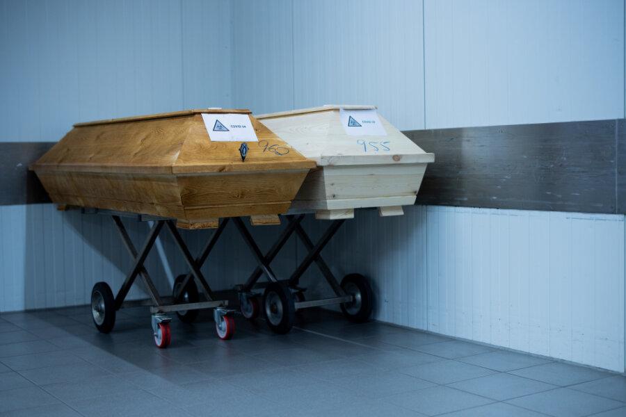 Höchste Sterbezahl in Sachsen seit mehr als 40 Jahren