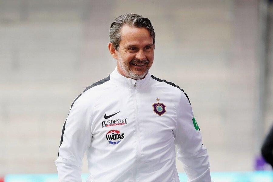 Dirk Schuster - Trainer des FC Erzgebirge Aue