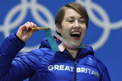 Elizabeth Yarnold gewann zweimal Gold bei Olympia