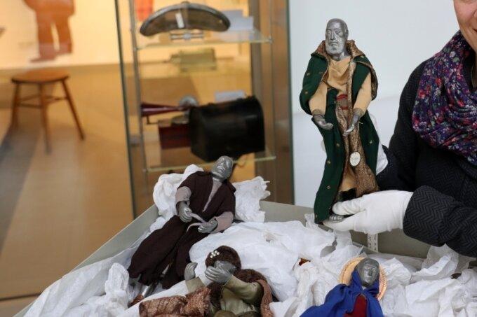 Diesmal geht's um Krippen: Schwarzenbergs Museum bereitet Weihnachtsschau vor