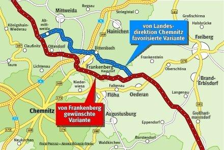 Erdgasleitung bringt für Frankenberg Belastungen