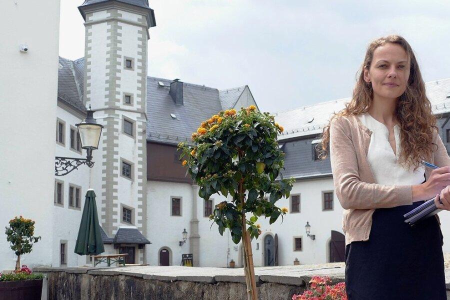 Auf Schloss Wildeck stehen Veränderungen an. Mit ihren Mitarbeiterinnen will Christiane Schlegel, die Leiterin des Kultur- und Tourismusbetriebs, das beschlossene Nutzungskonzept umsetzen.