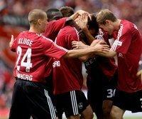Der 1. FC Nürnberg ist wieder erstklassig