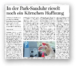 Zuletzt vor einem Jahr hatte eine niedersächsische Kommune die Idee der Park-Sanduhr aufgegriffen. Nun wird im Vogtland darüber diskutiert.