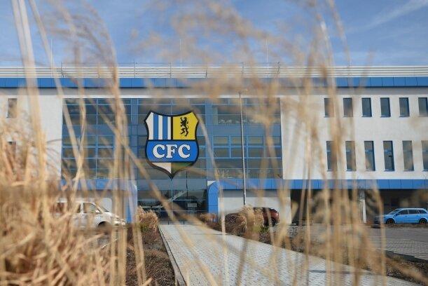 Das CFC-Stadion an der Gellertstraße: Die großen Fraktionen wollen den Beschluss zur Stadionpacht vorerst nicht neu aufrollen.