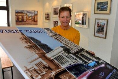 Franko Finster zeigt ab Freitag seine Fotos aus Kuba in den Räumlichkeiten des Deckerbergvereins in Mittweida.