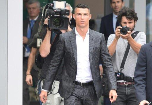Alle Augen in Turin sind auf Cristiano Ronaldo gerichtet