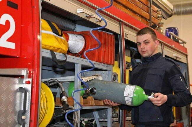 Richard Wörl hat die ehrenamtliche Aufgabe des stellvertretenden Wehrleiters für Technik bei der Freiwilligen Feuerwehr in Waldenburg übernommen.