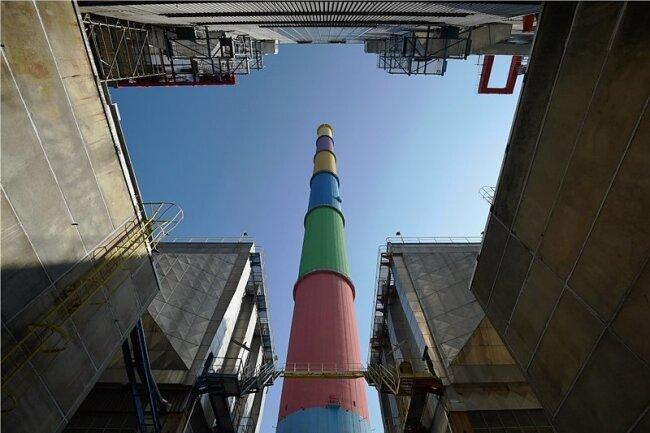 Das Heizkraftwerk Chemnitz wird mit einerzusätzlichen Abgasreinigungsanlage ausgestattet.