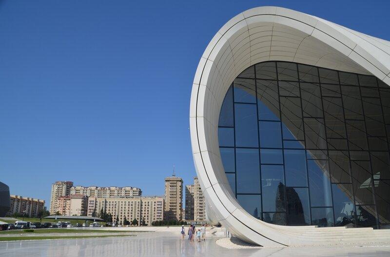Das Heydar Aliyev Center.
