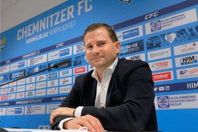 Marc Arnold ist neuer Geschäftsführer Sport des Chemnitzer FC.