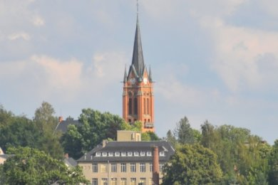 In der Lutherkirche in Oberfrohna waren in der Vergangenheit die meisten Vandalismusschäden zu verzeichnen.
