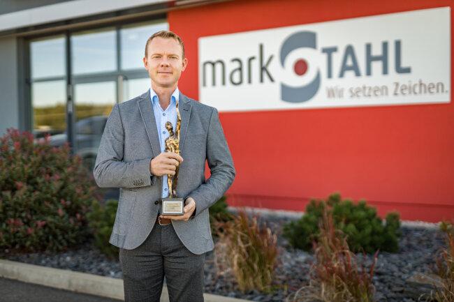 Roland Markert - Chef der Firma Markstahl