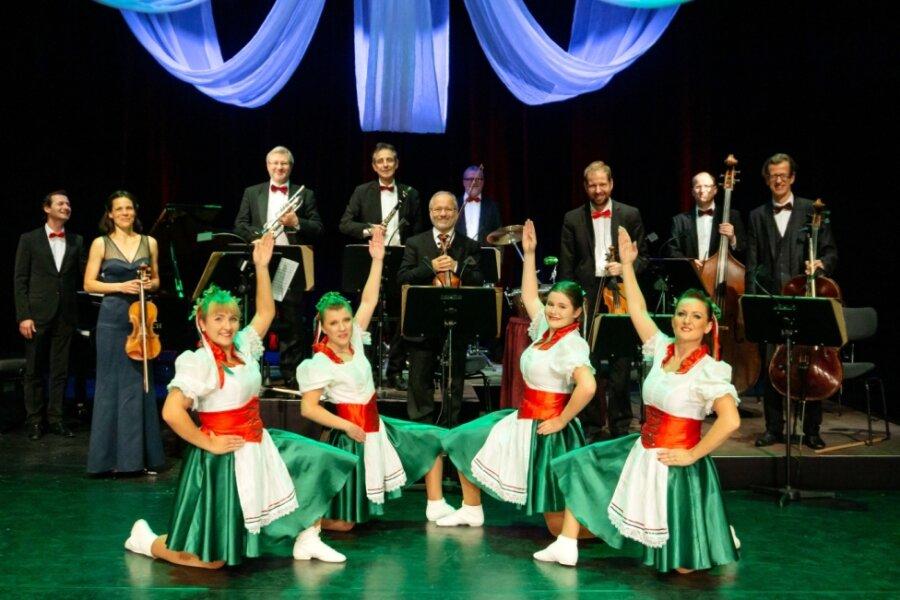 Flotte Tänze und Ohrwürmer im König-Albert-Theater Bad Elster