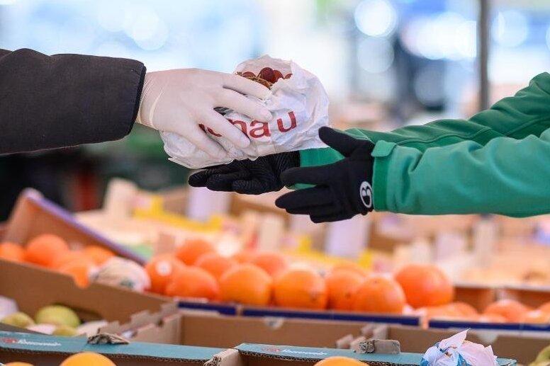 Wochenmärkte finden statt - aber in veränderter Form