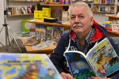 """Autor Jens Dittrich aus Mittweida hat mit """"Robin und Lumi - Das Geheimnis der düsteren Insel"""" sein fünftes Kinderbuch veröffentlicht."""