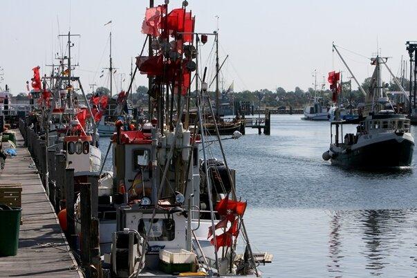 Der Hafen von Heiligenhafen