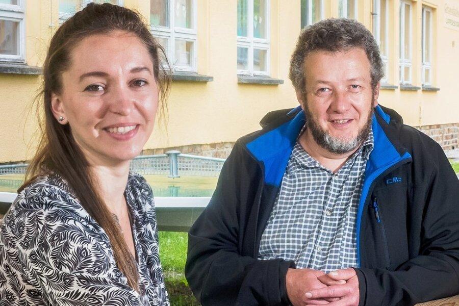 Julia Kluge ist die erste Lehrerin, die Pfarrer Michael Escher in seiner Funktion als Vorsitzender des Evangelischen Schulvereins Pockau-Lengefeld für die freie Grundschule engagiert hat. Noch gibt es freie Plätze in der künftigen ersten Klasse. Anmeldungen sind bis 1. August möglich.