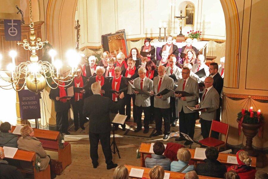 Zwickauer Singekreis gibt letztes Konzert in Königswalde