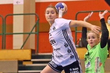BSV-Handballerin Lena Hausherr in Aktion.