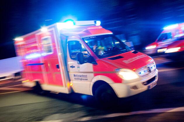 Neue Rettungswache in Penig eingeweiht
