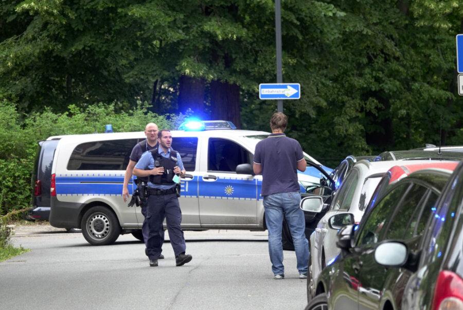 Bombendrohung am Chemnitzer Amtsgericht - Polizei gibt Entwarnung