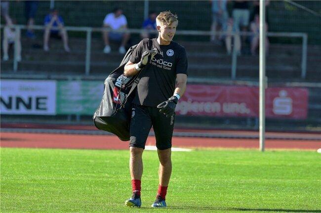In Bielefeld spielte Philipp Klewin nur eine Nebenrolle.