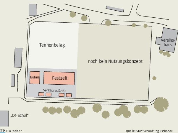 Zschopau: Festplatzbau verzögert sich