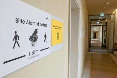Abstand, Masken, Desinfektion und Tests: Das Konservatorium begrüßt bald wieder Schüler.