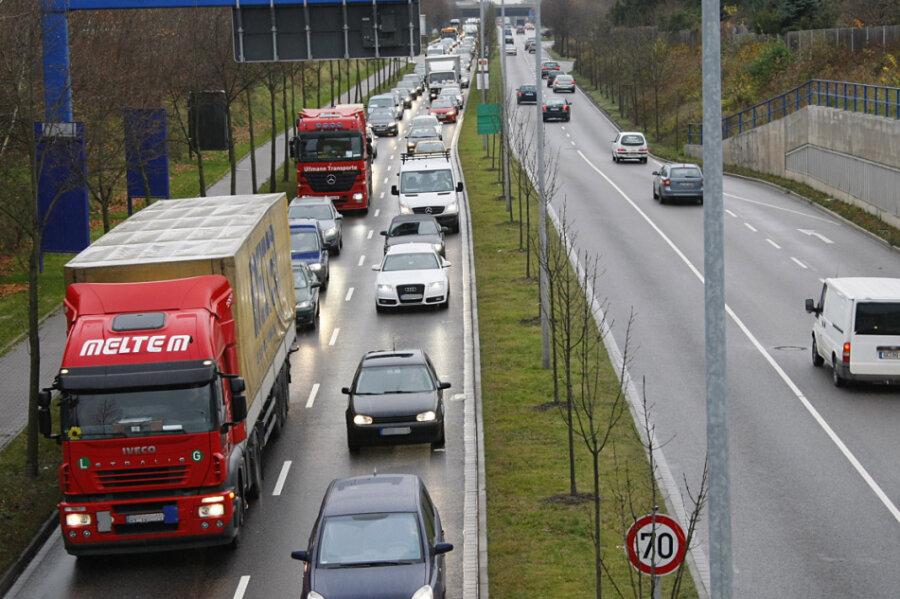 Chemnitz drosselt Geschwindigkeit auf der Neefestraße
