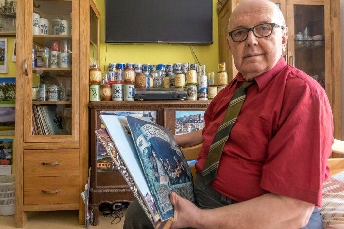 Frank Vogel wohnt im Diakoniepflegeheim in Marienberg. Er hört gern Schallplatten, schaut Fernsehen, genießt Spaziergänge und Ausflüge. Am liebsten spricht er aber von seiner DDR-Flucht.
