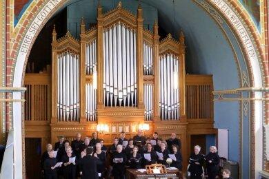 Auch an der Generalsanierung der wertvollen Jehmlich-Orgel hat sich der Förderverein finanziell beteiligt.
