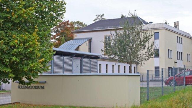 Das Krematorium am Zwickauer Hauptfriedhof soll modernisiert werden.