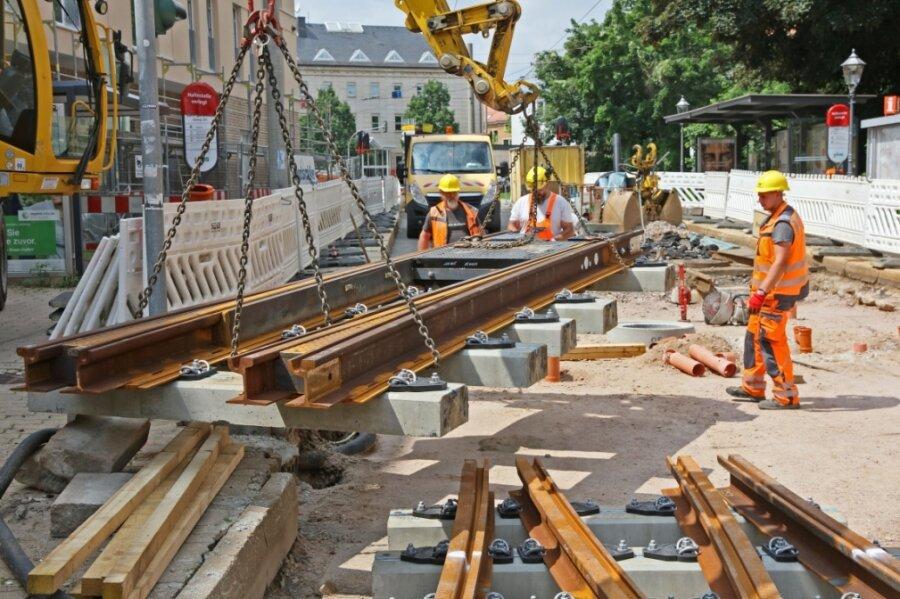 Neue Weichen für das Gleisdreieck in der Innenstadt