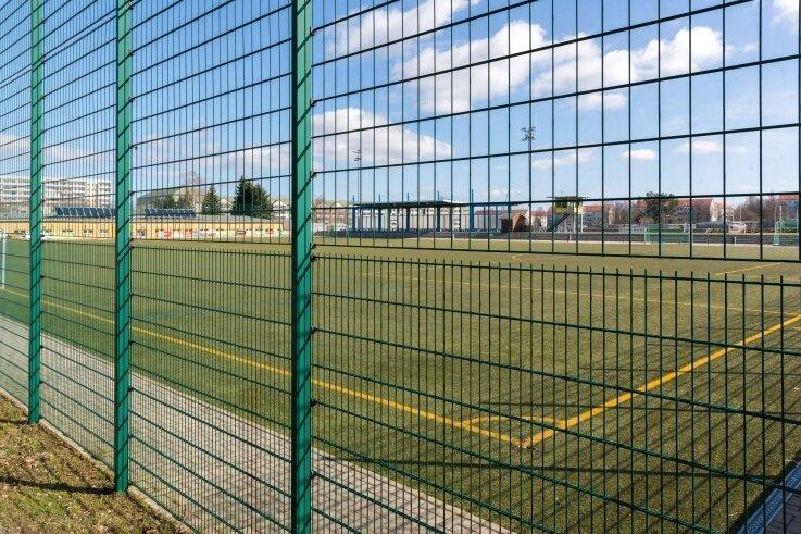 Frühlingshaft soll es in den nächsten Tagen werden. Die Sportstätten, wie der Freiberger Platz der Einheit, bleiben aber geschlossen.