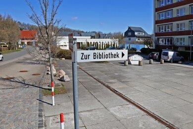 Der Vorplatz der Thurmer Grundschule soll nach den Plänen der Mülsener Gemeindeverwaltung und des Rates aufgehübscht werden.